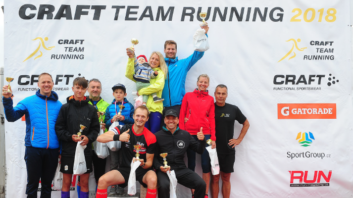 Craft Team Running Cup 2018 - Lipno